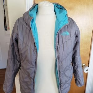 Girls Northface Jacket 10/12